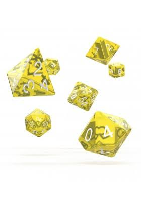 Oakie Doakie Dice - RPG Set Translucent - Yellow (7)