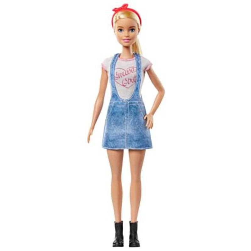 Barbie Doll with 2 Surprise Career Looks Featuring 8 Surprises