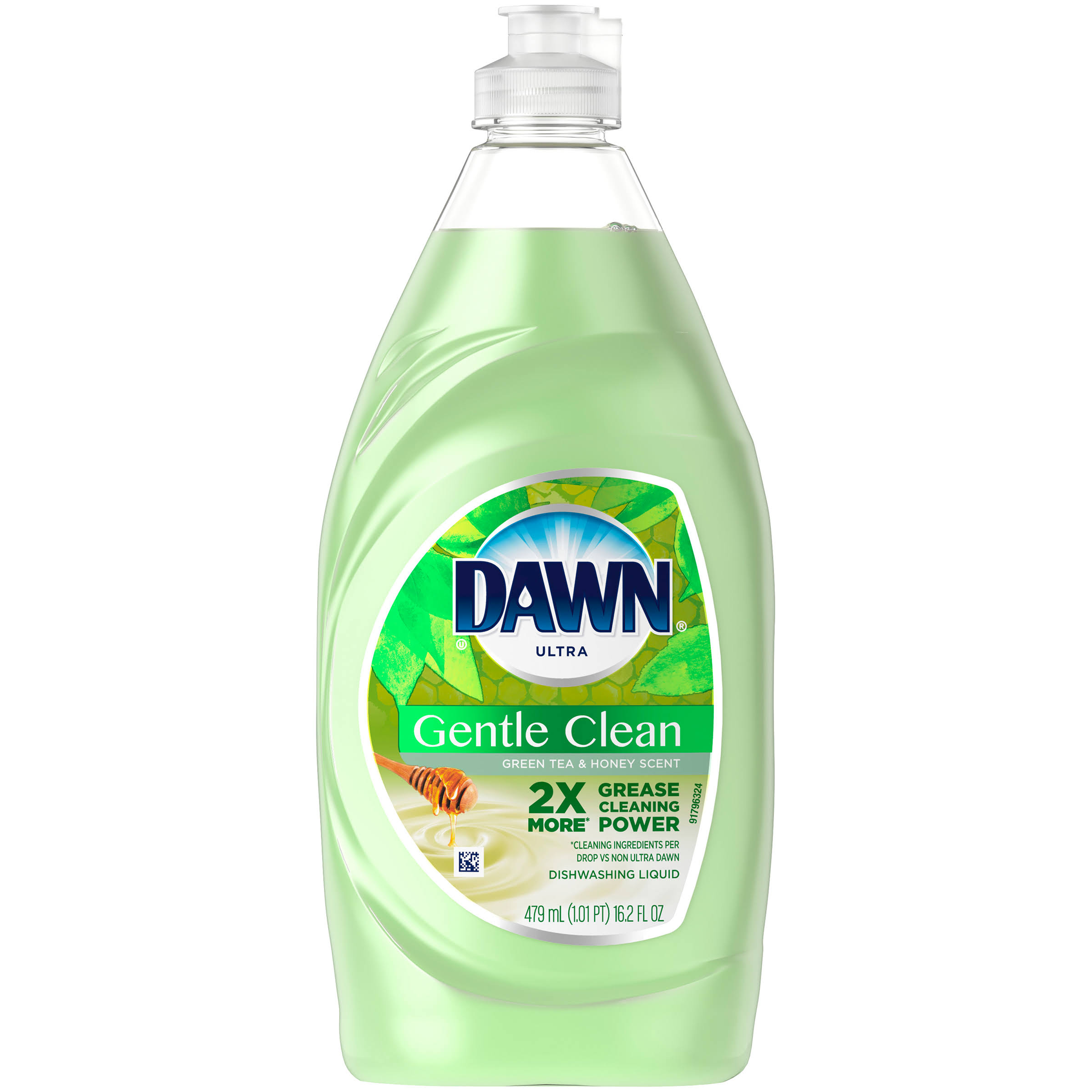 Dawn Gentle Clean Dishwashing Liquid Dish Soap - Cucumber Melon, 16.2oz