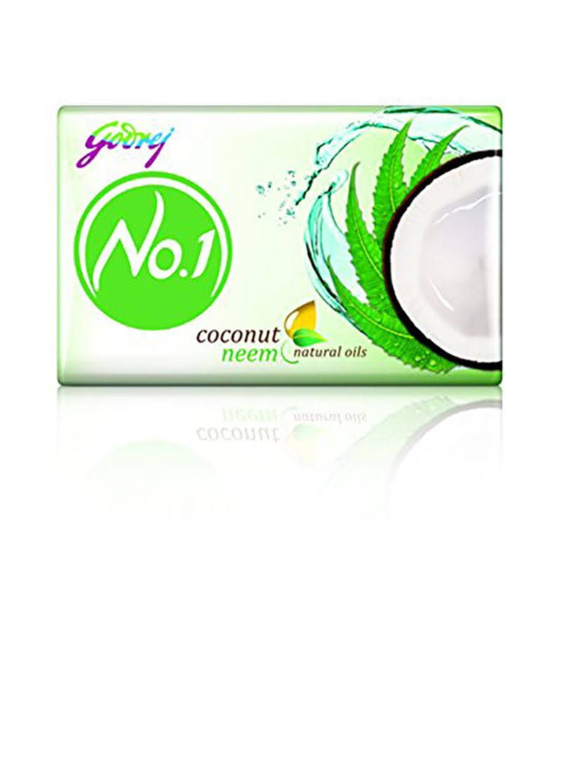 Godrej No.1 Coconut And Neem Soap - 115g