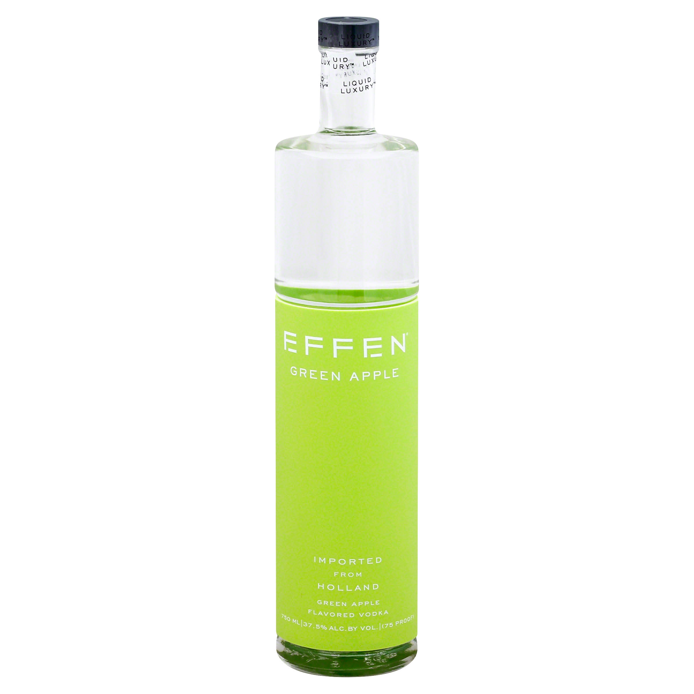 Effen Dutch Vodka - 750ml, Green Apple