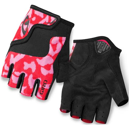Giro Kids' Bravo Cycling Gloves - Pink and Black, Small