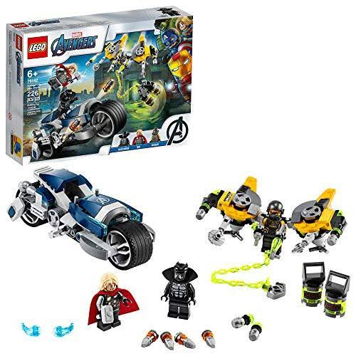 Lego Marvel Avengers Speeder Bike Attack 76142 Building Kit