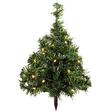 Christmas Tree Amazon Prime by Werchristmas Solar Powered Mini Christmas Trees With Ten Warm