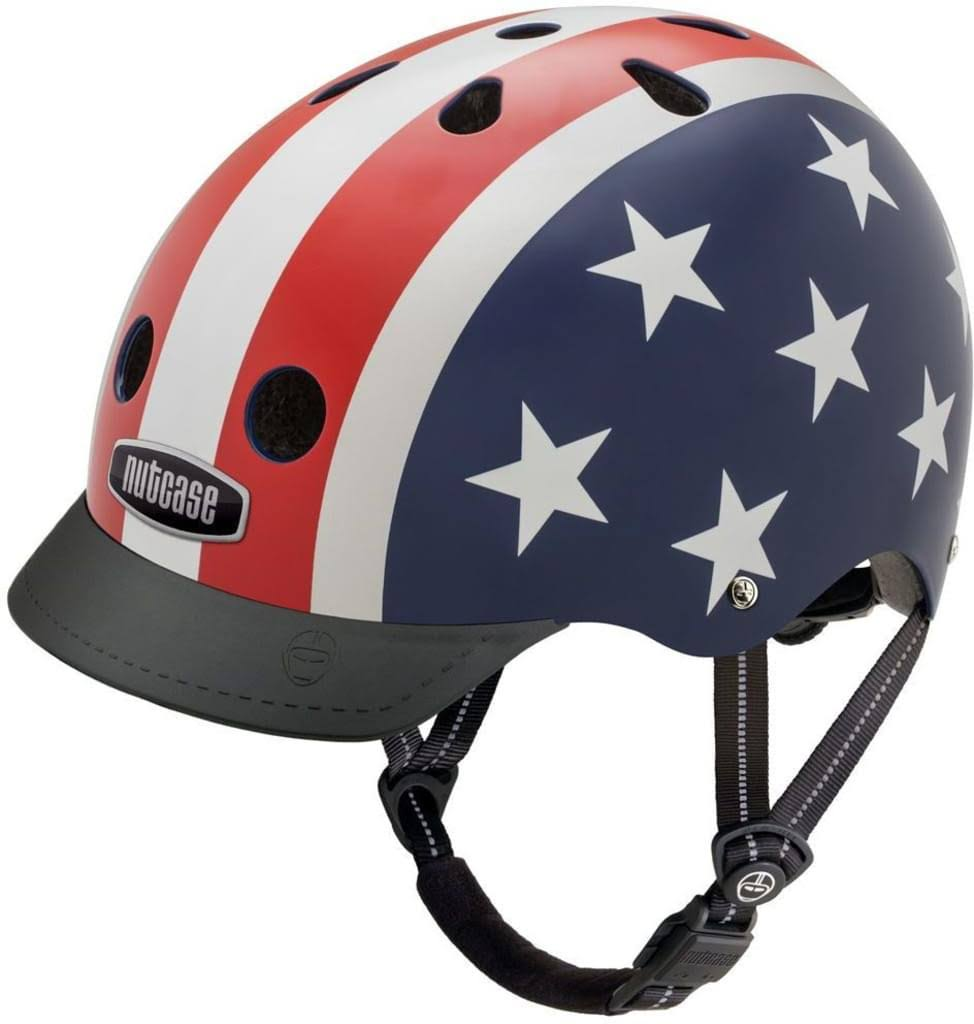 Nutcase Gen 3 Street Stars and Stripes Bike Helmet - Medium