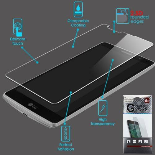 ASMYNA 2.5D Tempered Glass Screen Protector Film for LG G Stylo Ls770 / Stylus 2