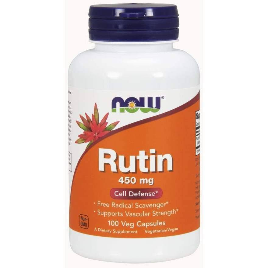 Now Foods Rutin Antioxidant Protection - 450mg, 100 VCaps