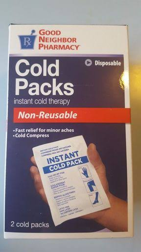 GNP Cold Pack Instant Cold Therapy Non Reusable 2
