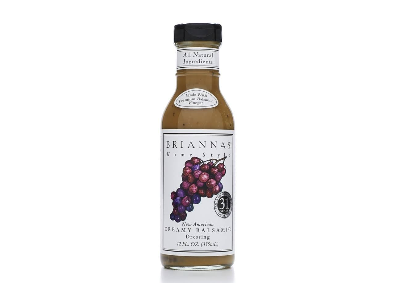 Brianna's Home Style Dressing - Creamy Balsamic, 12oz