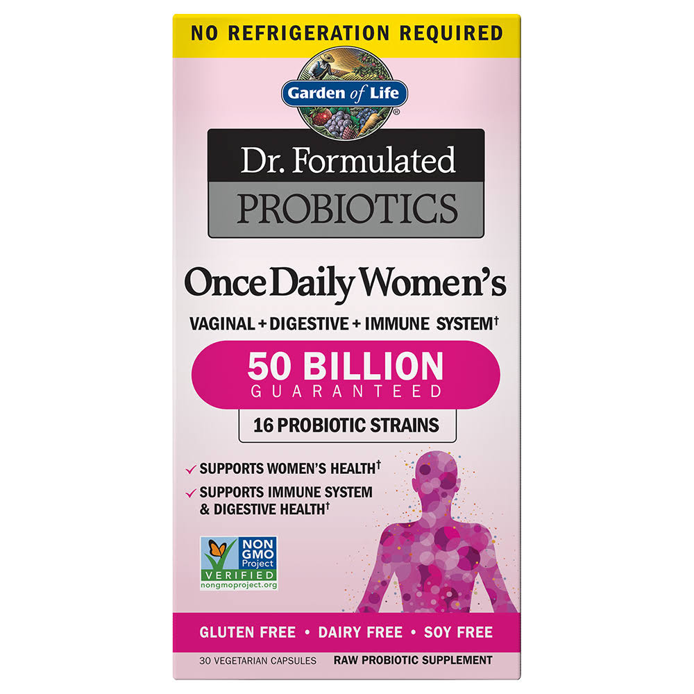 Garden Of Life Dr. Formulated Probiotics Once Daily Women's Supplement - 30 Count