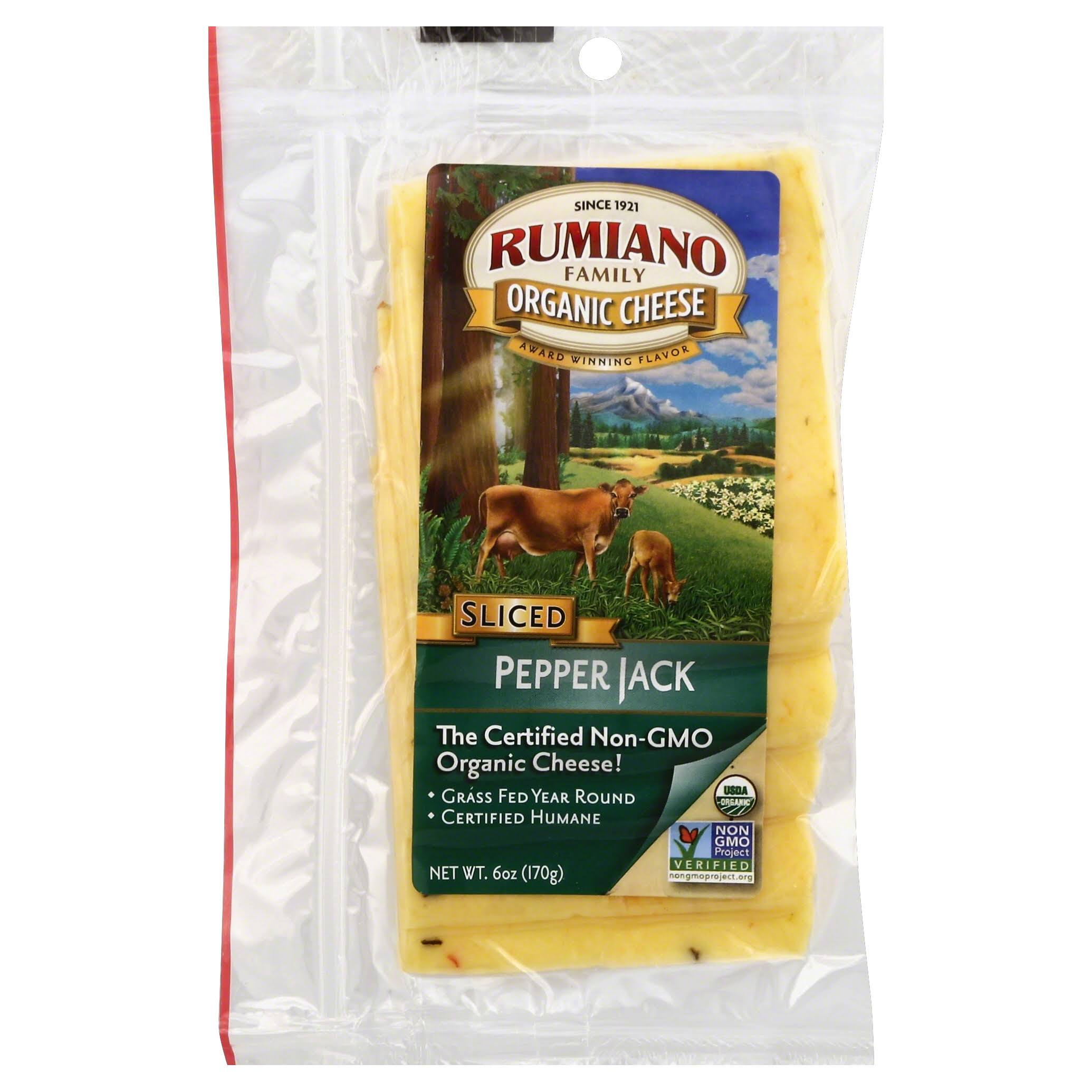 Rumiano Sliced Pepper Jack Cheese - 6oz