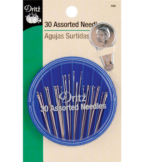 Dritz 30-Piece Assorted Needles