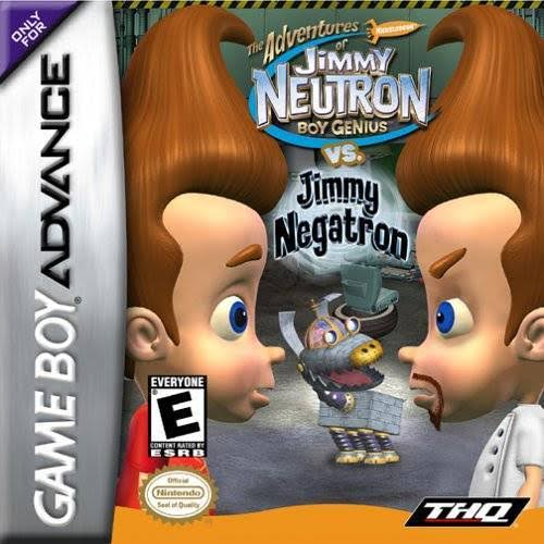 Jimmy Neutron vs Jimmy Negatron - Nintendo Game Boy Advance