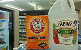 Natural Remedy For Clogged Bathroom Drain by How To Unclog Toilets Using Baking Soda Vinegar No Plunger