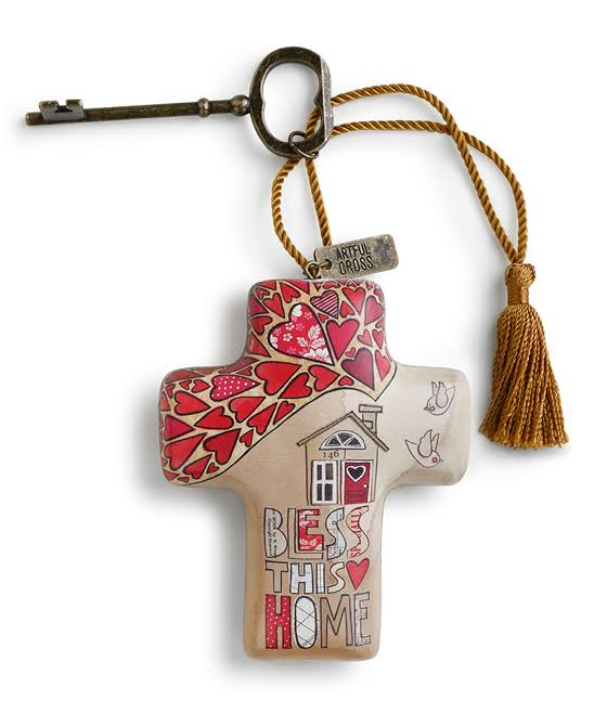 Demdaco Bless This Home Artful Cross