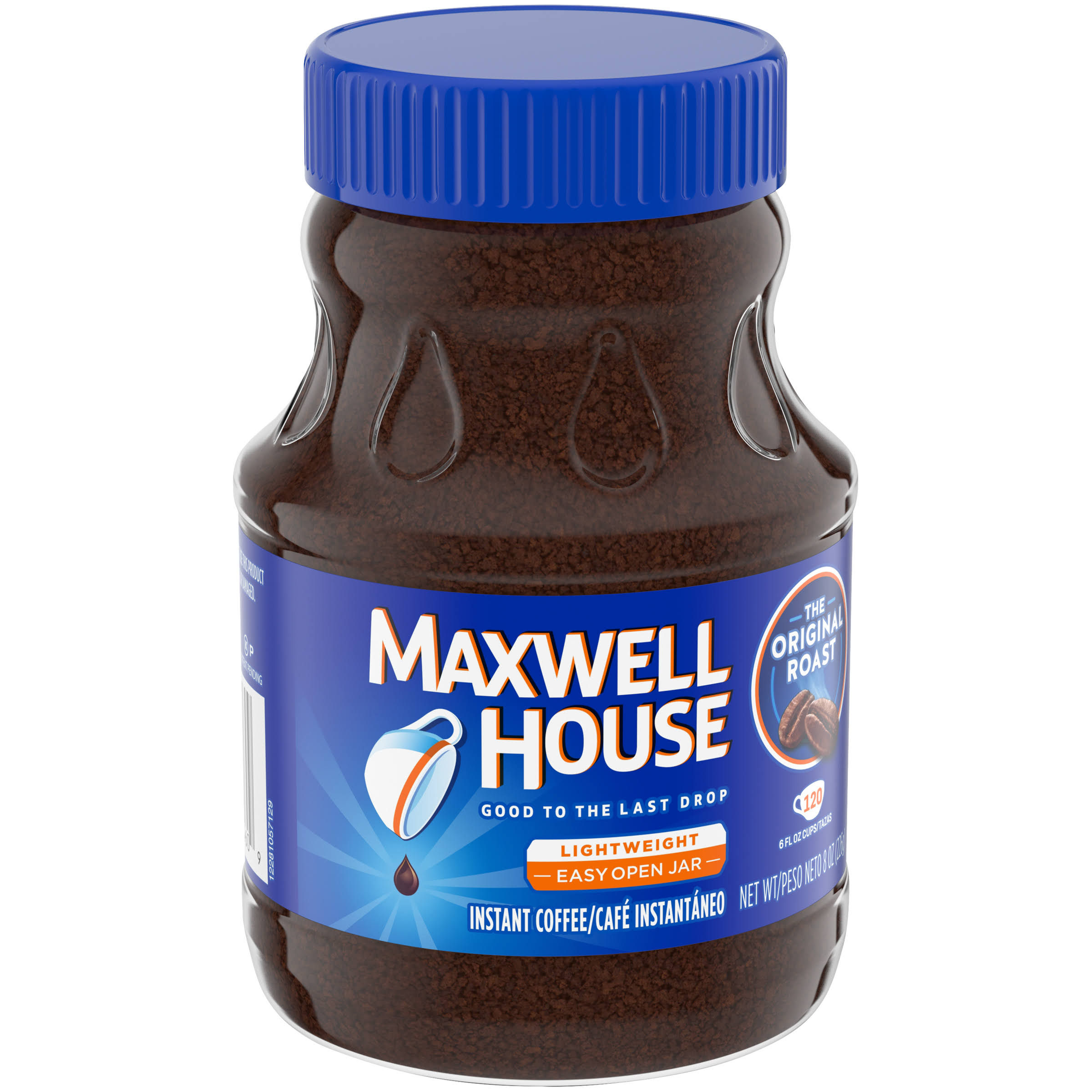 Maxwell House Instant Coffee - The Original Roast, 8oz