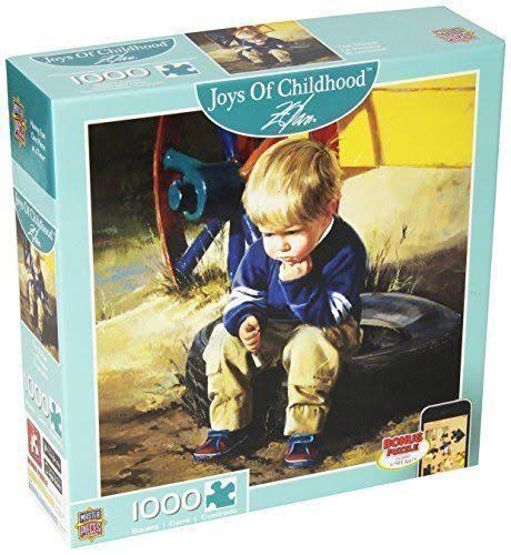 MasterPieces The Thinker Joys of Childhood Jigsaw Puzzle - 1000pcs