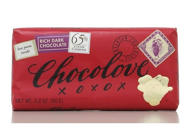 Chocolove Rich Dark Chocolate Bar - 3.2oz