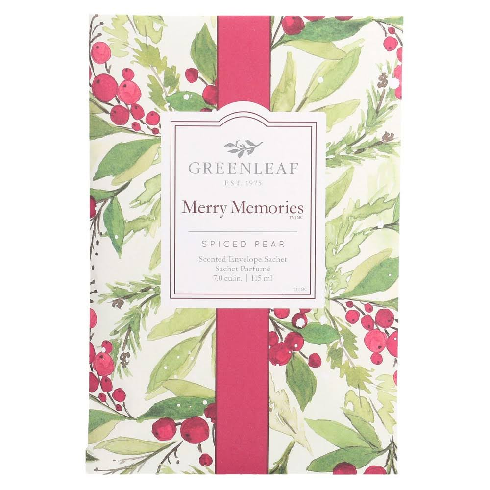 Greenleaf Scented Sachet Merry Memories 115ml