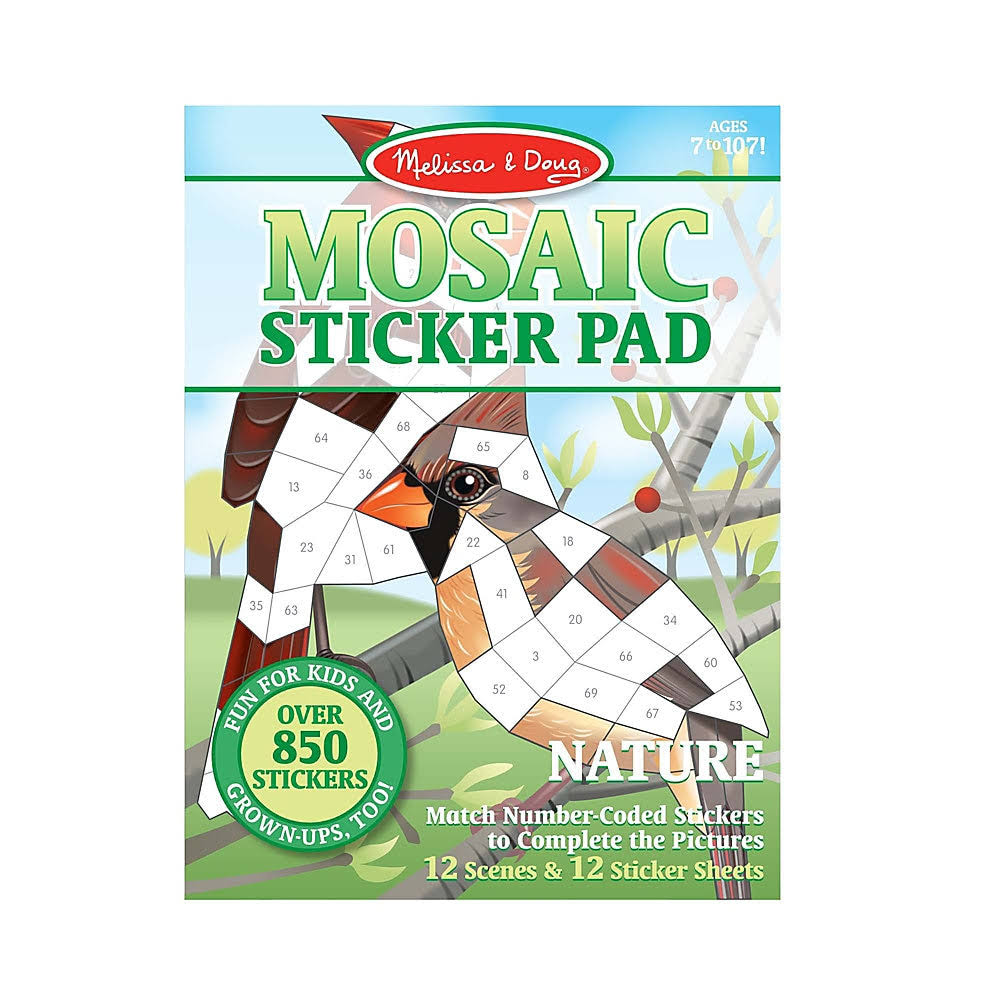 Melissa & Doug - Mosaic Sticker Pad - Nature