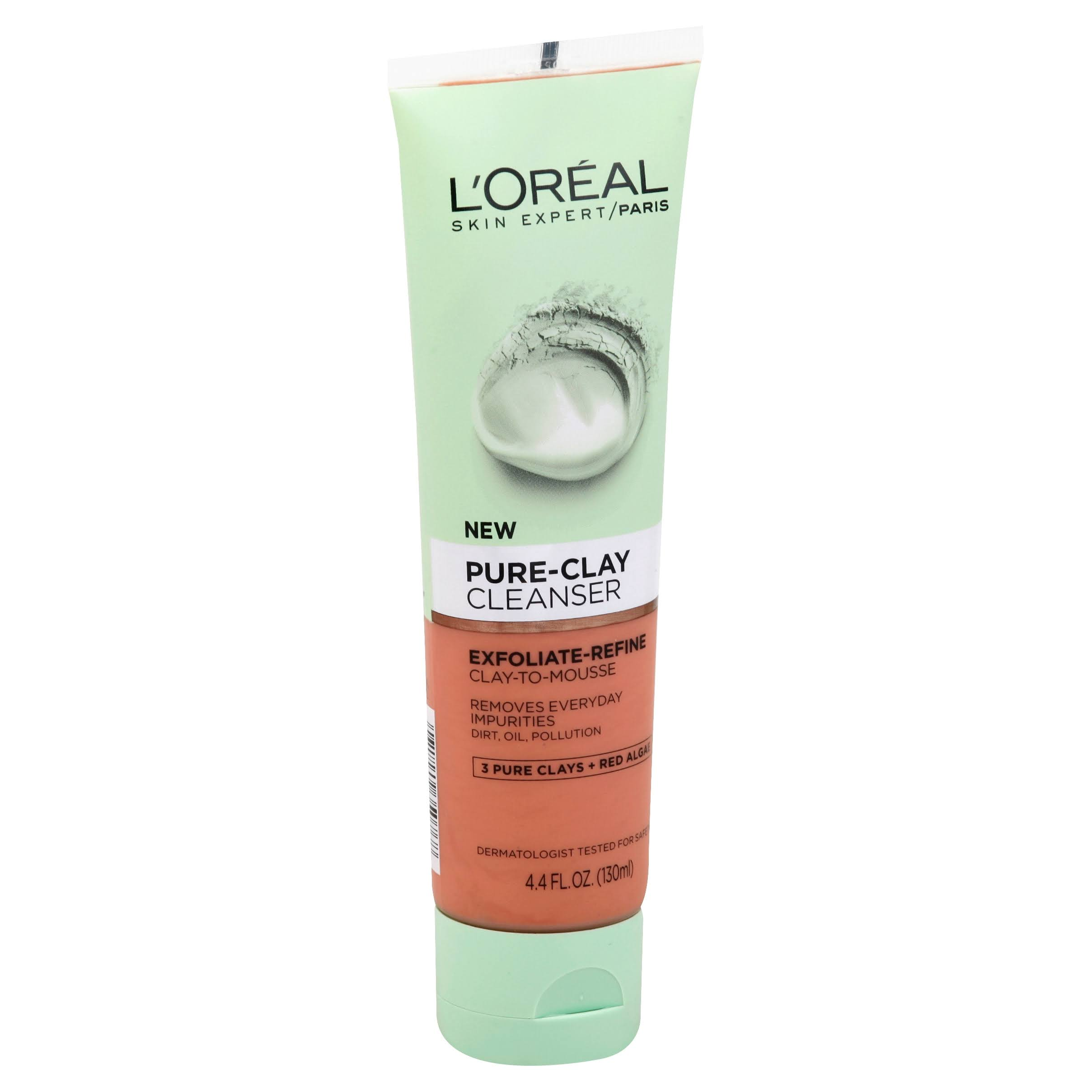 L'Oréal Paris Skin Expert Pure-Clay Cleanser - 4.4oz