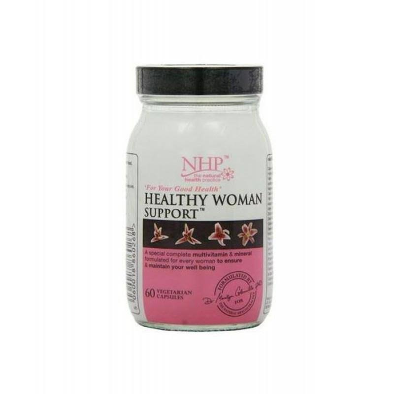 Natural Health Practice Healthy Woman Support Capsules
