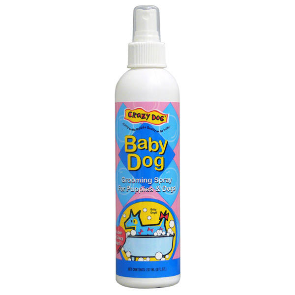 Crazy Dog Dogs Grooming Spray - 8oz