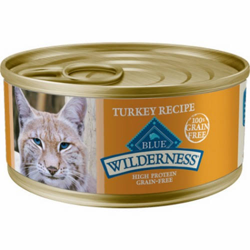 Blue Wilderness Food for Cats, Natural, Turkey Recipe - 5.5 oz