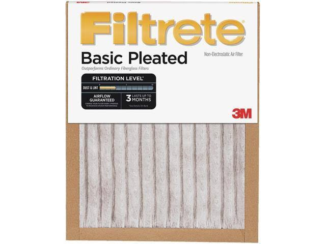 Filtrete Basic Pleated Air Filter