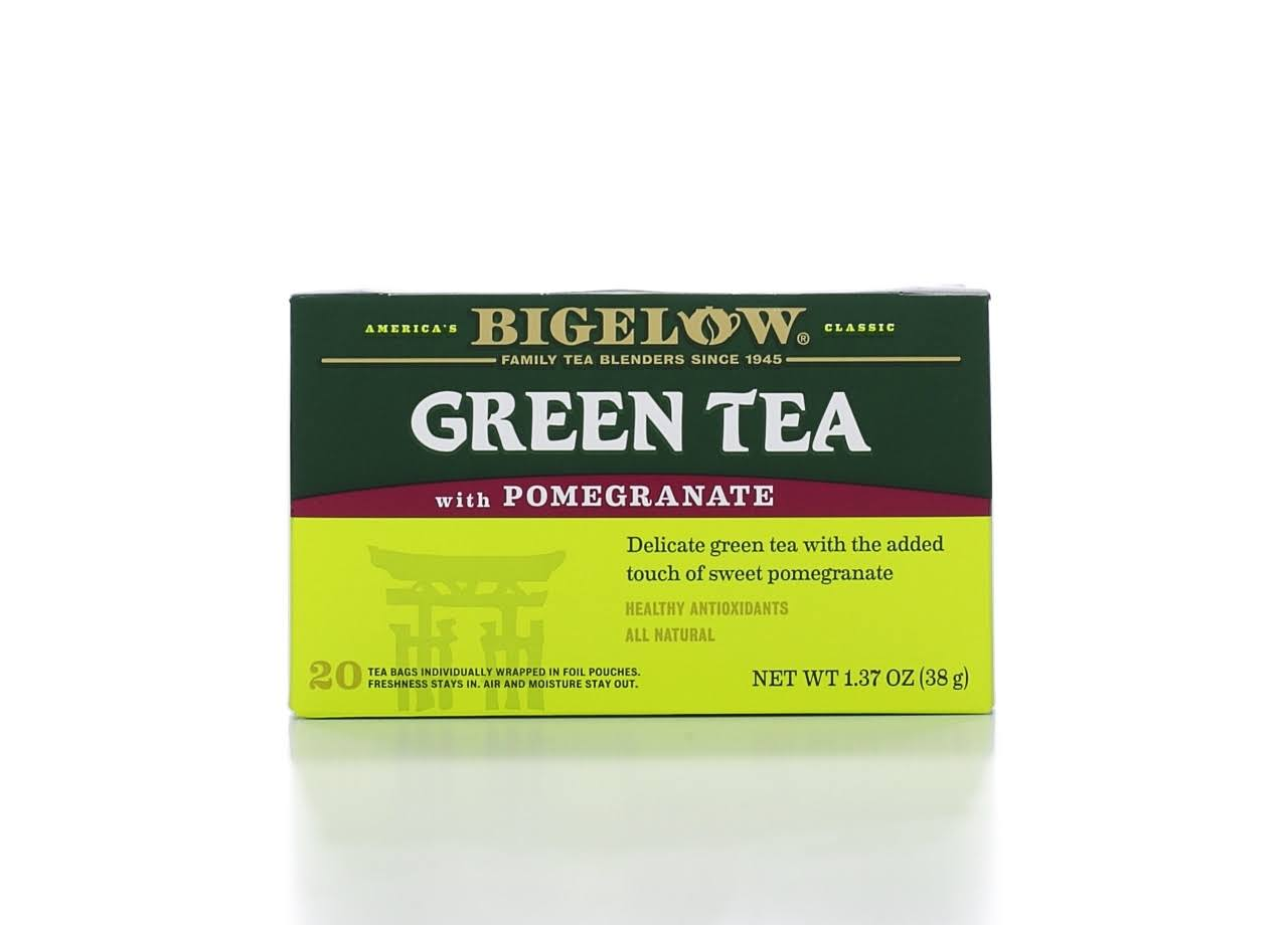 Bigelow Green Tea with Pomegranate Tea Bags - 20ct, 1.37oz