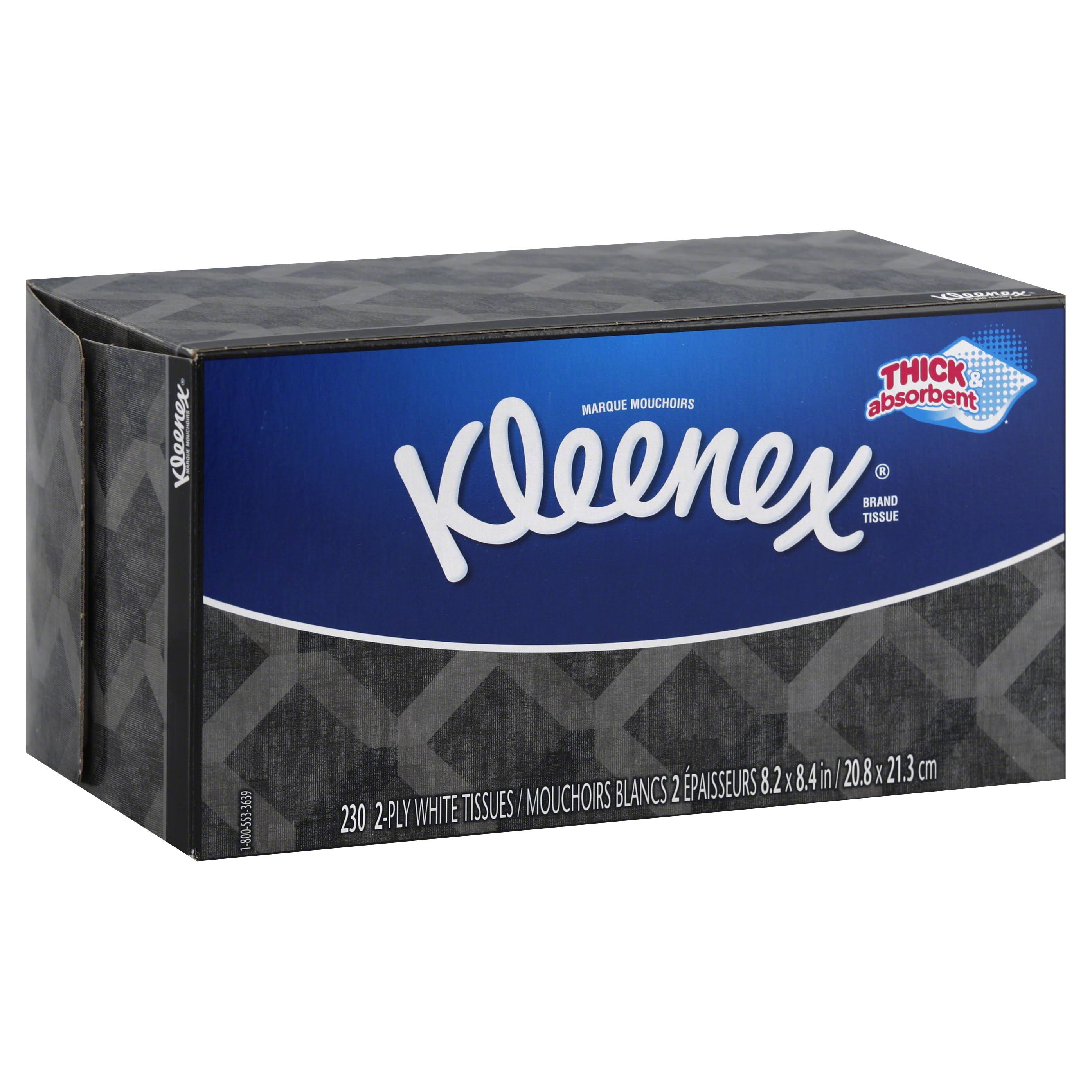 Kleenex Facial Tissue - White, 230 Pack