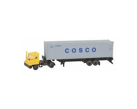 Kato USA KAT31-621 N Yard Tractor with 40 ft. Container, Cosco