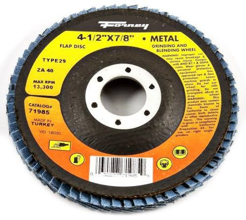 Forney Industries Flap Disc - 36 Grit, 4 1/2""