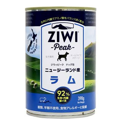 Ziwi Peak Dog Food - Lamb Recipe, 390g