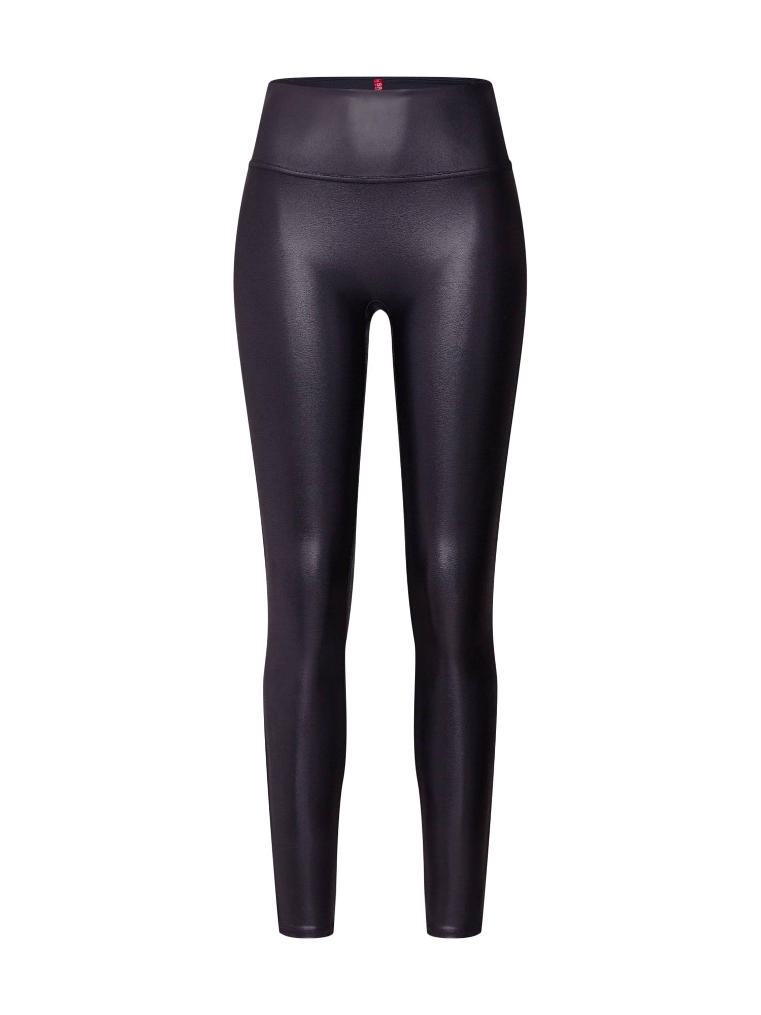 Spanx Faux Leather Leggings - Black, Small