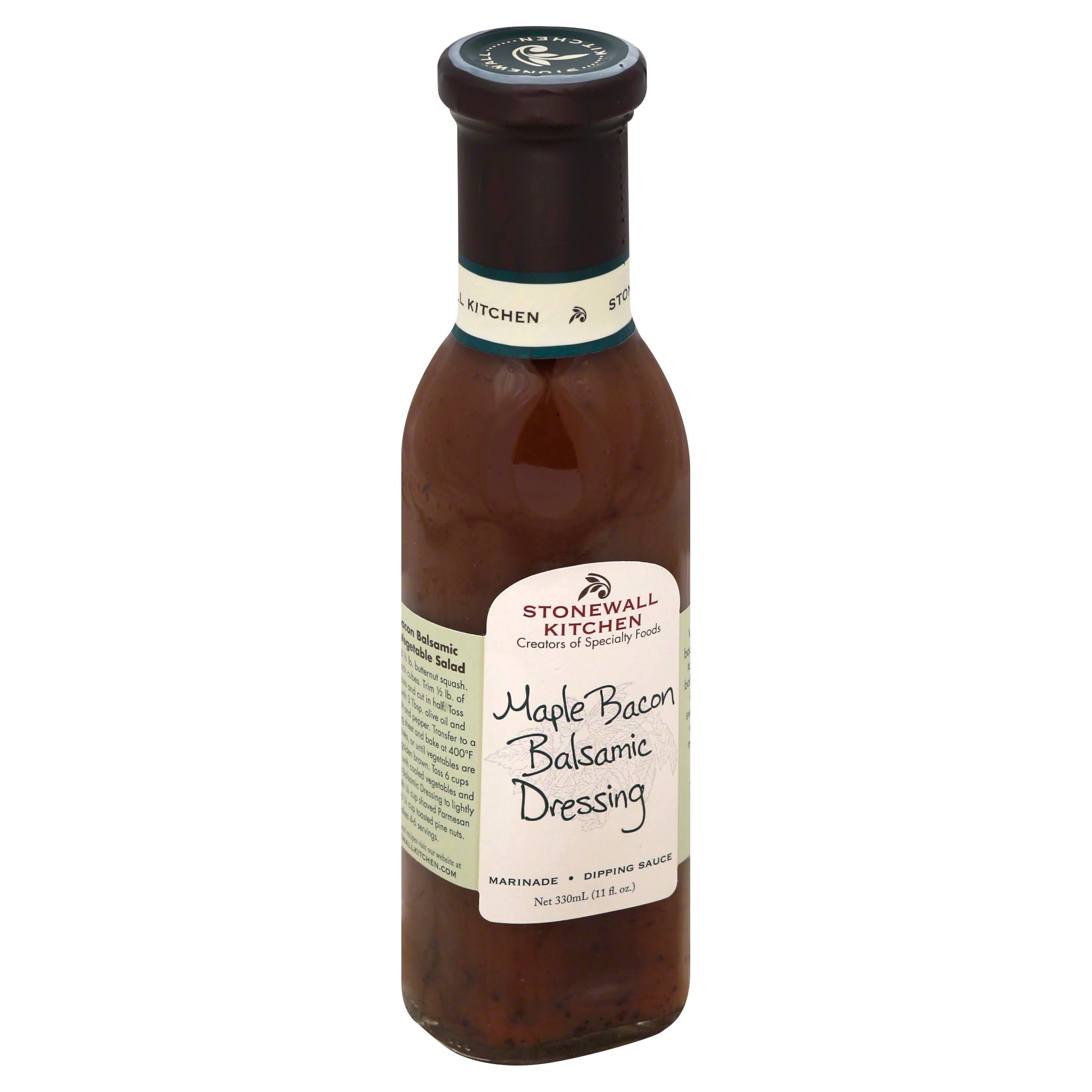 Stonewall Kitchen Balsamic Dressing - Maple Bacon, 330ml