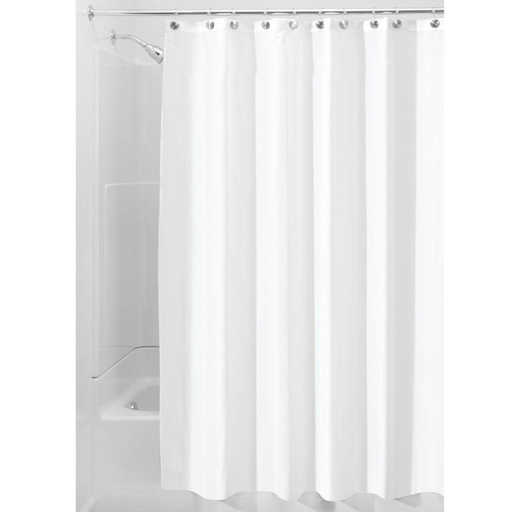 Interdesign Shower Curtain Liner - White - 108 in