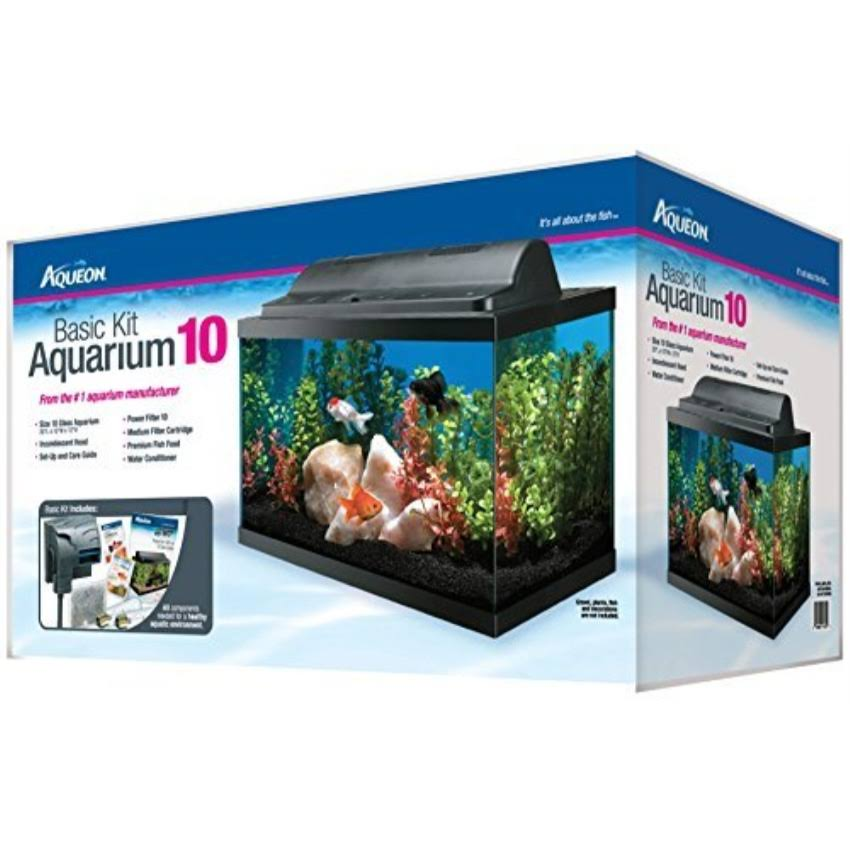Aqueon Basic Aquarium Kit - 10gal