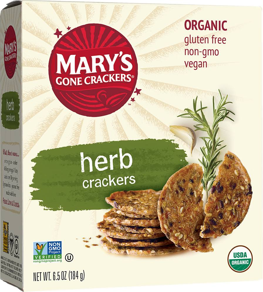 Mary's Gone Crackers - Herb, 6.5oz