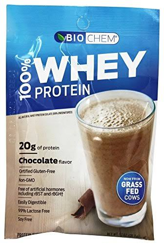 Biochem 100% Whey Protein - 1.1 oz packet