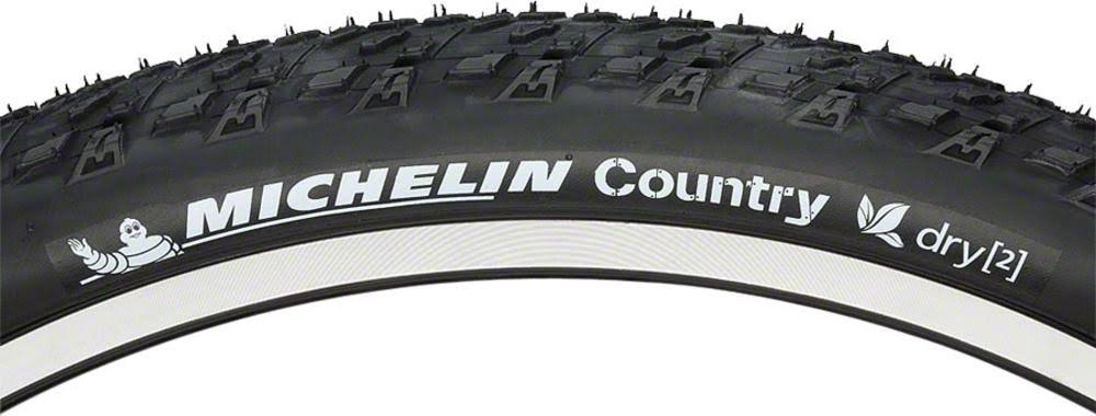 "Michelin Country Dry 2 Tire - Black, 26"" x 2"""