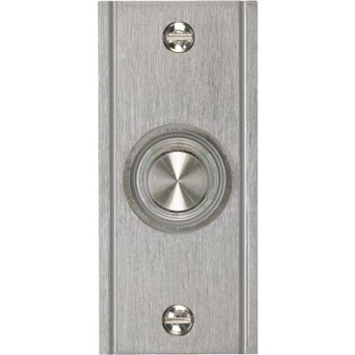 Iq America Wired Lighted Push Button Doorbell