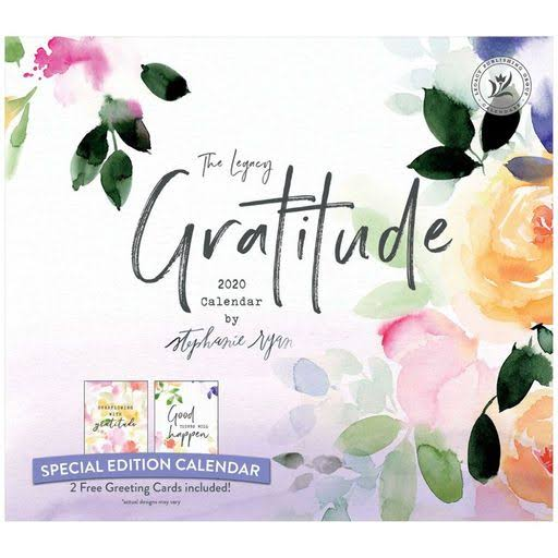 Legacy Publishing Group, 2020 Gratitude Special Edition Wall Calendar