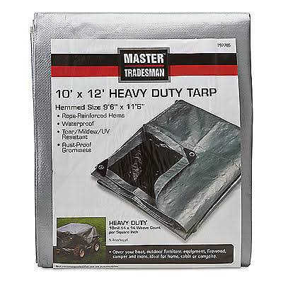 10 x 12-ft. Polyethylene Tarp