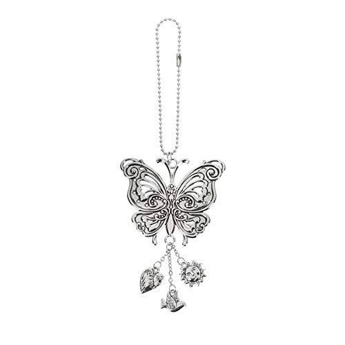 Ganz Butterfly Rearview Car Charm