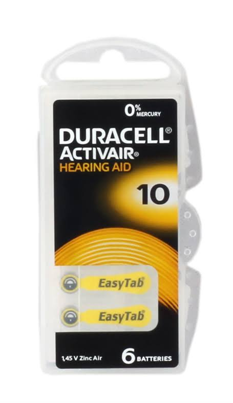 Duracell Hearing Aid of 10