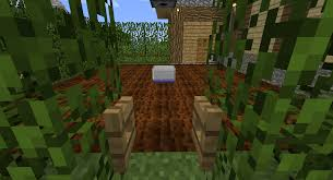 Minecraft Automatic Pumpkin Farm by A Semi Automatic Wheat Farm Using The Observer Block Mine Build