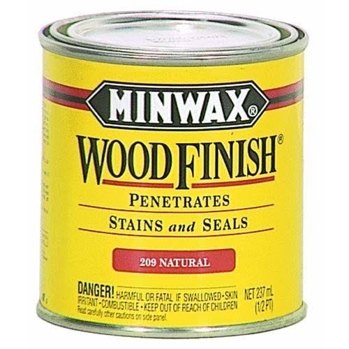 Minwax Wood Finish Oil-Based Interior Stain - Honey, 8oz