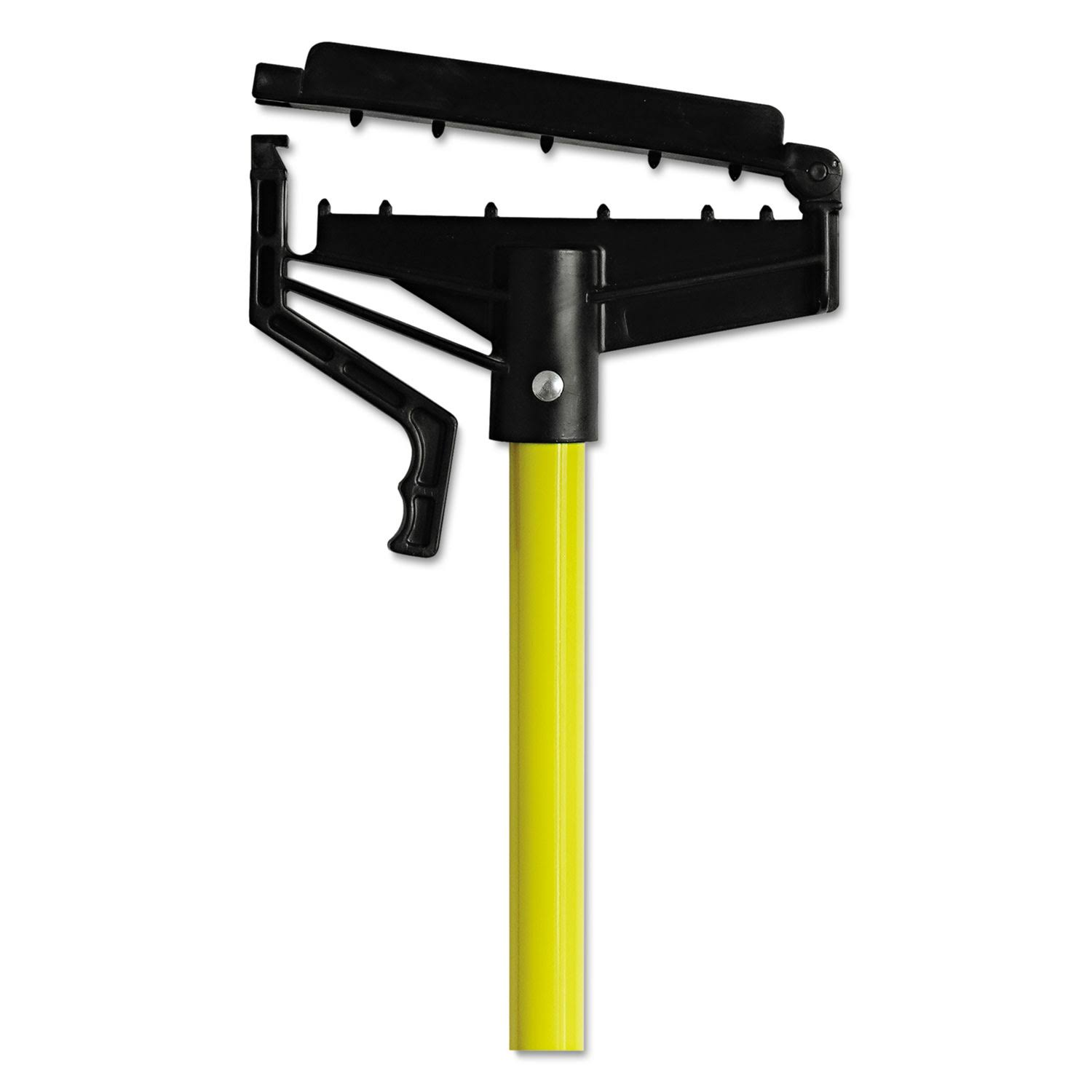 O-Cedar Commercial Quick Change Mop Stick - Yellow Fiberglass Handle