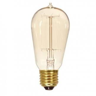 Satco Incandescent Light Bulb - 60W, 120V